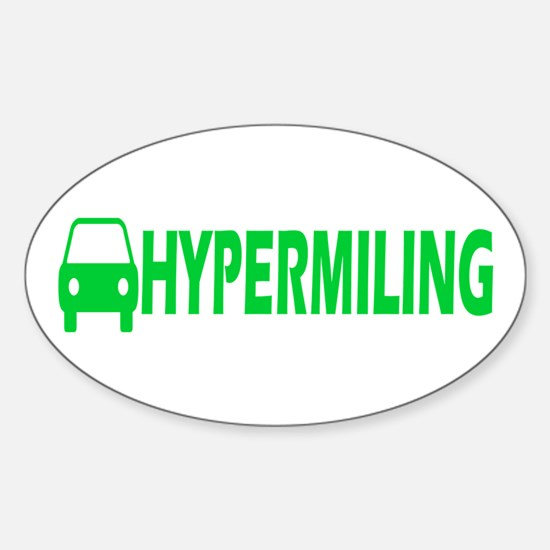 Hypermiling Oval Decal