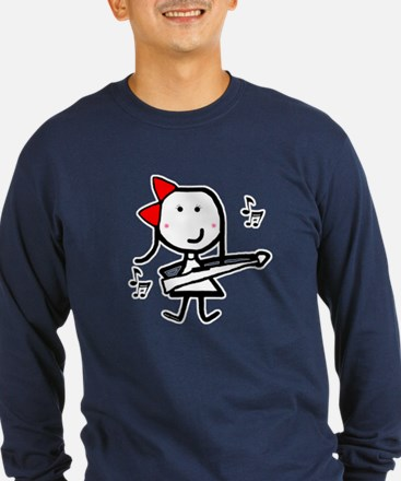 Girl & Marching Rifle T