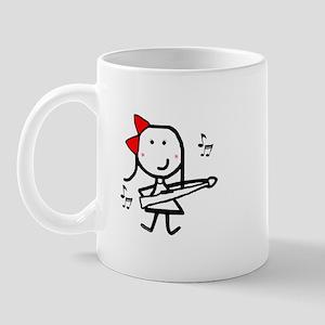 Girl & Marching Rifle Mug