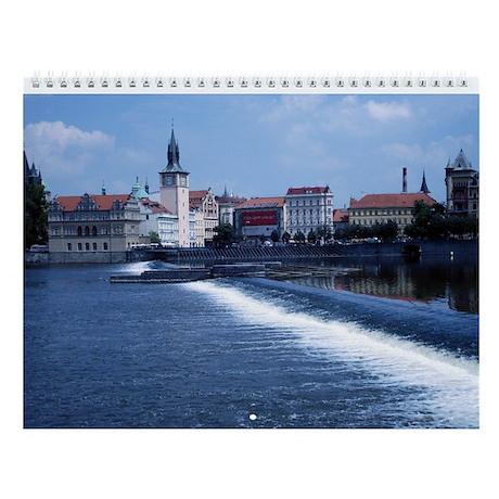 Prague, Czech Republic Wall Calendar