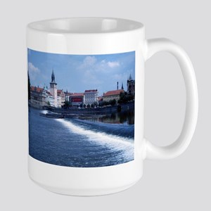 Prague, Czech Republic Large Mug
