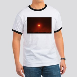 Fire Sun Set Ringer T
