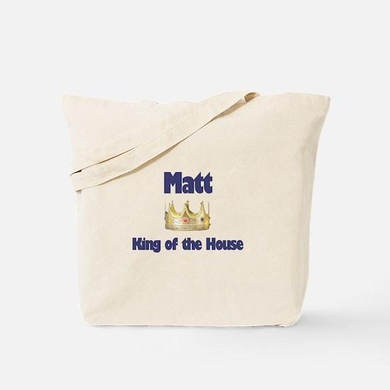 Matt - King of the House Tote Bag