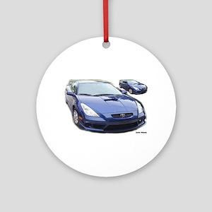 Celica GT 2 Images Ornament (Round)