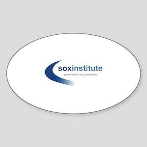 SOX Institute Oval Sticker