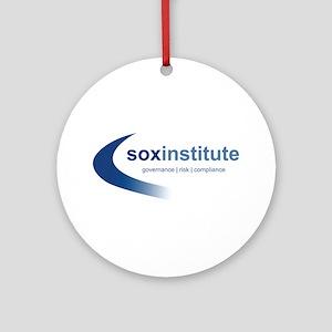 SOX Institute Ornament (Round)