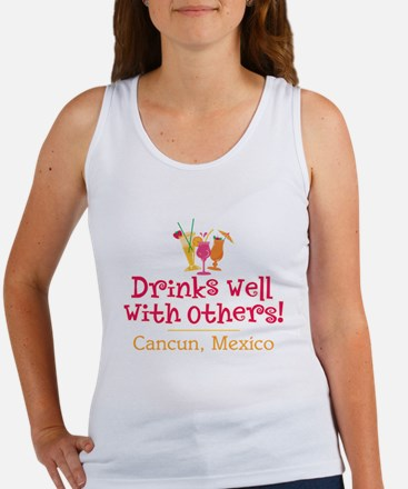 Drinks Well_Cancun - Women's Tank Top