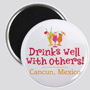 Drinks Well_Cancun - Magnet