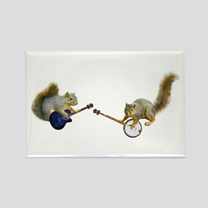 Squirrel Jam Rectangle Magnet