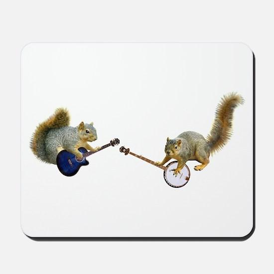 Squirrel Jam Mousepad