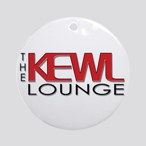 KEWL Lounge Ornament (Round)