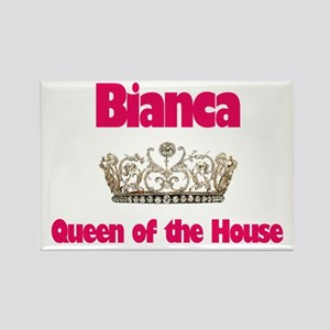 Bianca - Queen of the House Rectangle Magnet