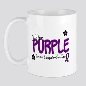 I Wear Purple For My Daughter-In-Law 14 Mug