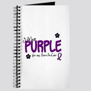 I Wear Purple For My Son-In-Law 14 Journal