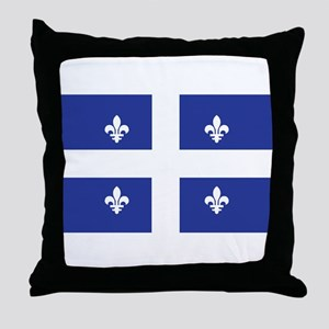 QUEBEC Throw Pillow