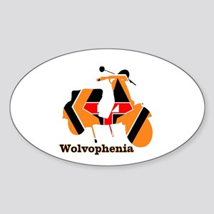 WOLVOPHENIA WOLVES Sticker (Oval)