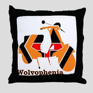 WOLVOPHENIA WOLVES Throw Pillow