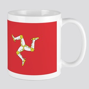 MAN-ISLE-FLAG Mug