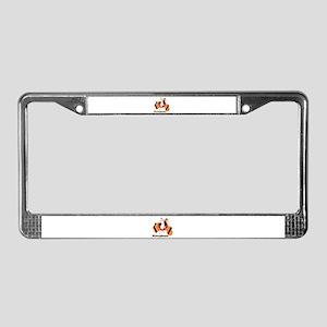 WOLVOPHENIA WOLVES License Plate Frame