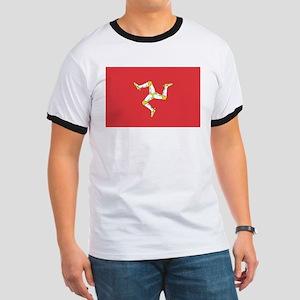 MAN-ISLE-FLAG Ringer T