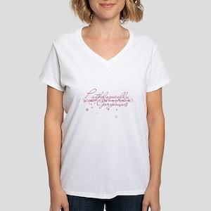 Pathologically Gorgeous Women's V-Neck T-Shirt
