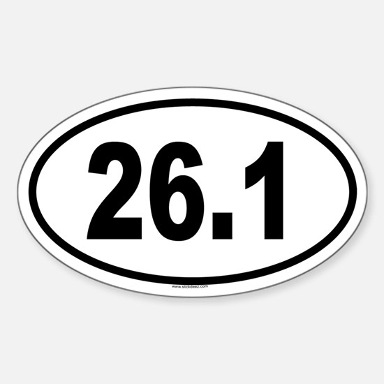 26.1 Oval Decal