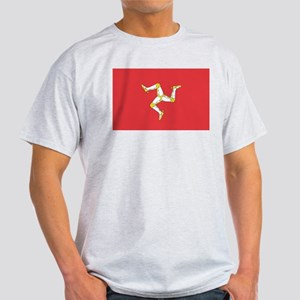 MAN-ISLE-FLAG Light T-Shirt