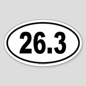 26.3 Oval Sticker