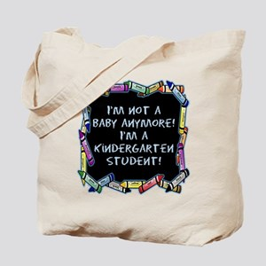 kindergarten student back to school Tote Bag