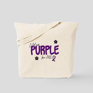I Wear Purple For ME 14 Tote Bag