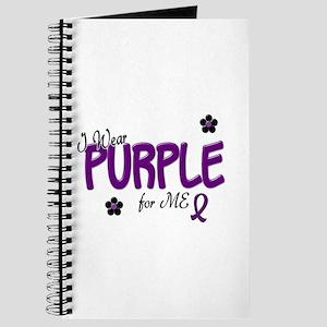 I Wear Purple For ME 14 Journal