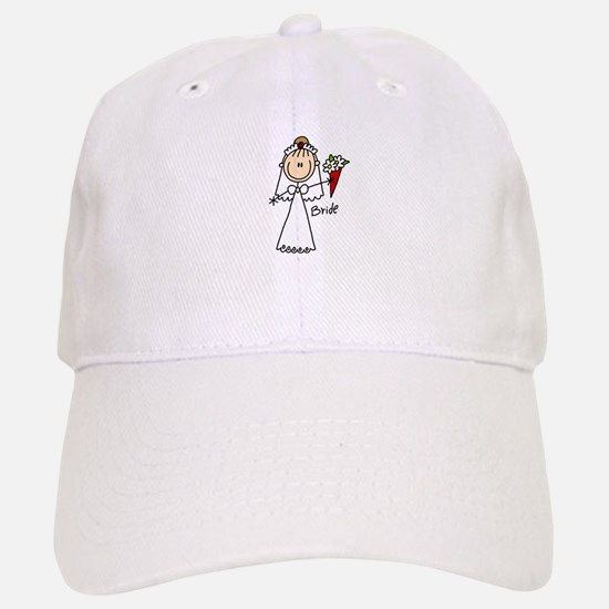 Stick Figure Bride Cap