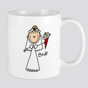 Stick Figure Bride Mug