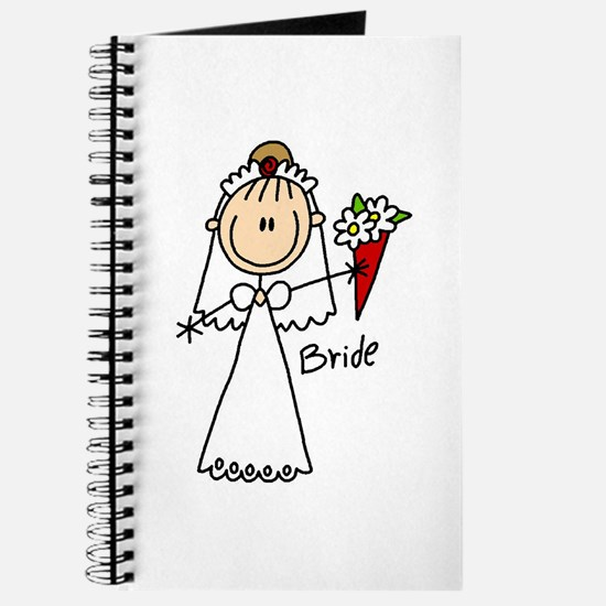 Stick Figure Bride Journal