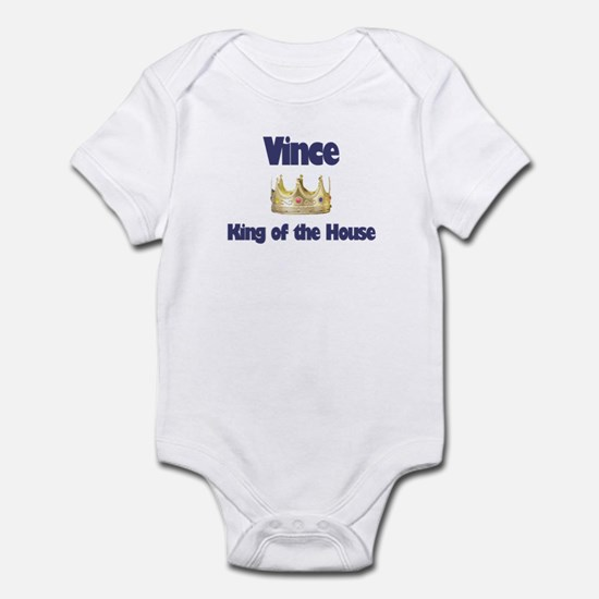 Vince - King of the House Infant Bodysuit