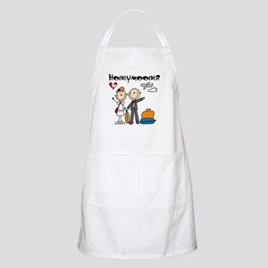 Stick Figures Honeymooner Apron