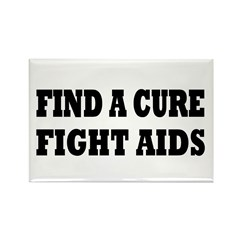 AIDS Rectangle Magnet (10 pack)