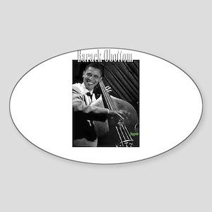 Barack Obottom Oval Sticker