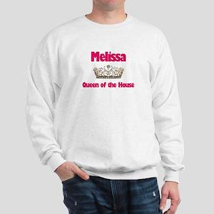 Melissa - Queen of the House Sweatshirt