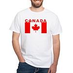 Canadian Mason White T-Shirt