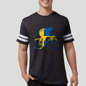 Sweden Cycling Mens Football Shirt