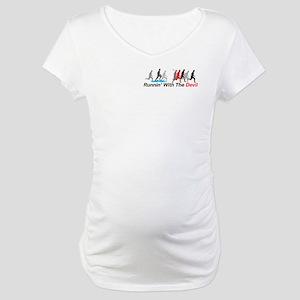 Runnin' With the Devil Maternity T-Shirt