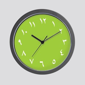 Iranian Wall Clock (Green)
