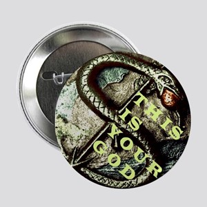 THIS IS YOUR GOD Serpent Seal Dollar Sign Button