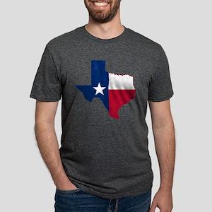Texas Flag Map - T-Shirt