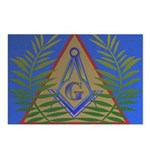 Masonic Acacia Postcards (Package of 8)