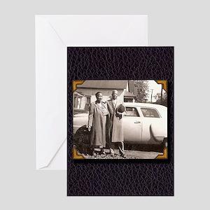 Essie Mae & Willie Greeting Card