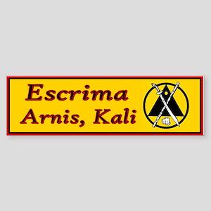 Escrima/arnis Bumper Sticker