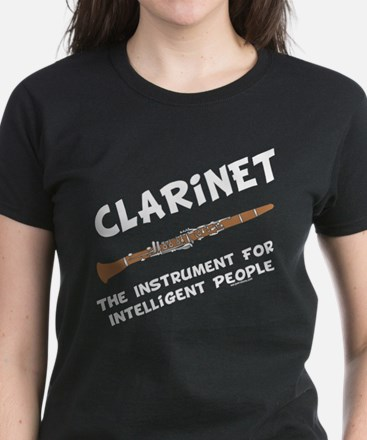 Clarinet Genius Women's Dark T-Shirt