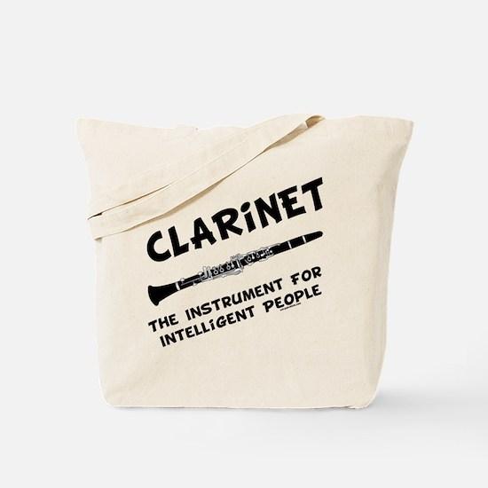 Clarinet Genius Tote Bag
